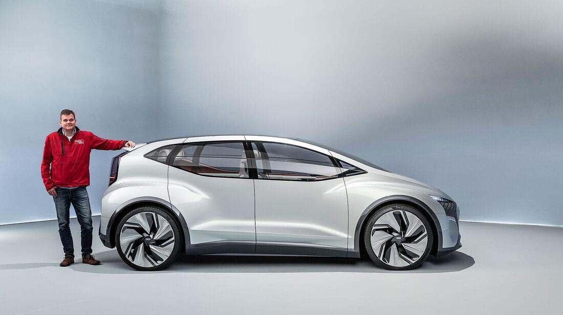 Audi AI:ME Concept Car Shanghai 2021