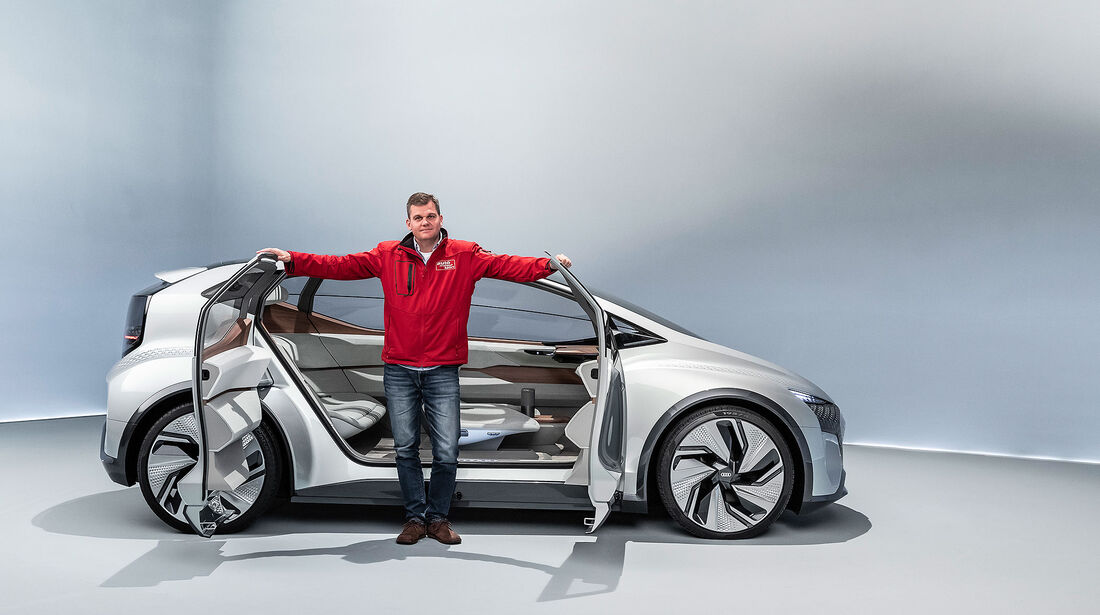 Audi AI:ME Concept Car Shanghai 2022