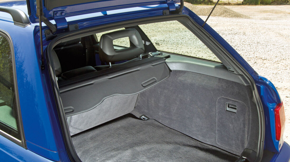 Audi Avant RS2, Kofferraum
