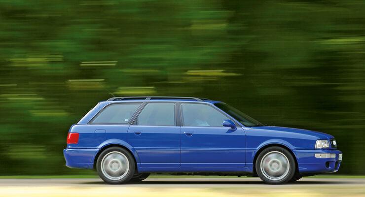 Audi Avant RS2, Seitenansicht