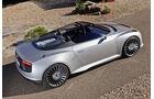 Audi E-Tron Spyder, Seitenansicht