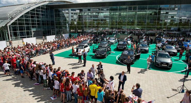 Audi - FC Bayern München - Dienstwagen