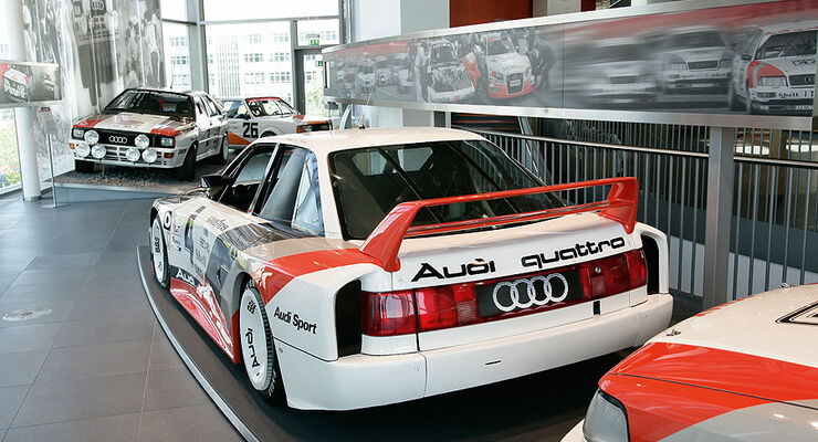 ausstellungen zu audi motorsport erfolgen auto motor und. Black Bedroom Furniture Sets. Home Design Ideas