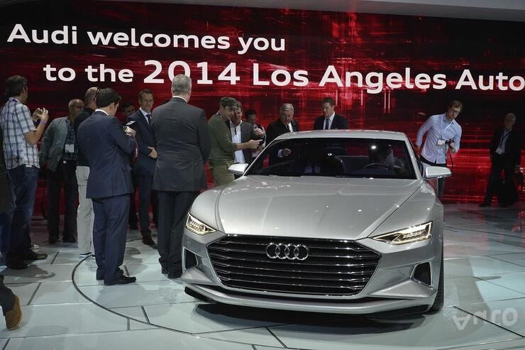 Audi Prologue auf der L.A. Auto Show: Das steckt wirklich in der A9-Coupé-Studie
