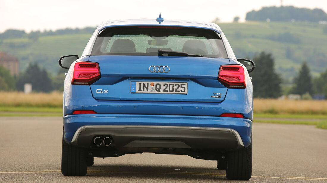 Audi Q2, Heckansicht