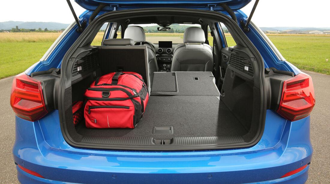 Audi Q2, Kofferraum