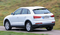 Audi Q3 2.0 TDI, Heckansicht