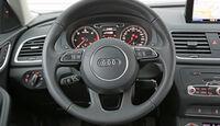 Audi Q3 2.0 TDI, Lenkrad, Rundinstrumente