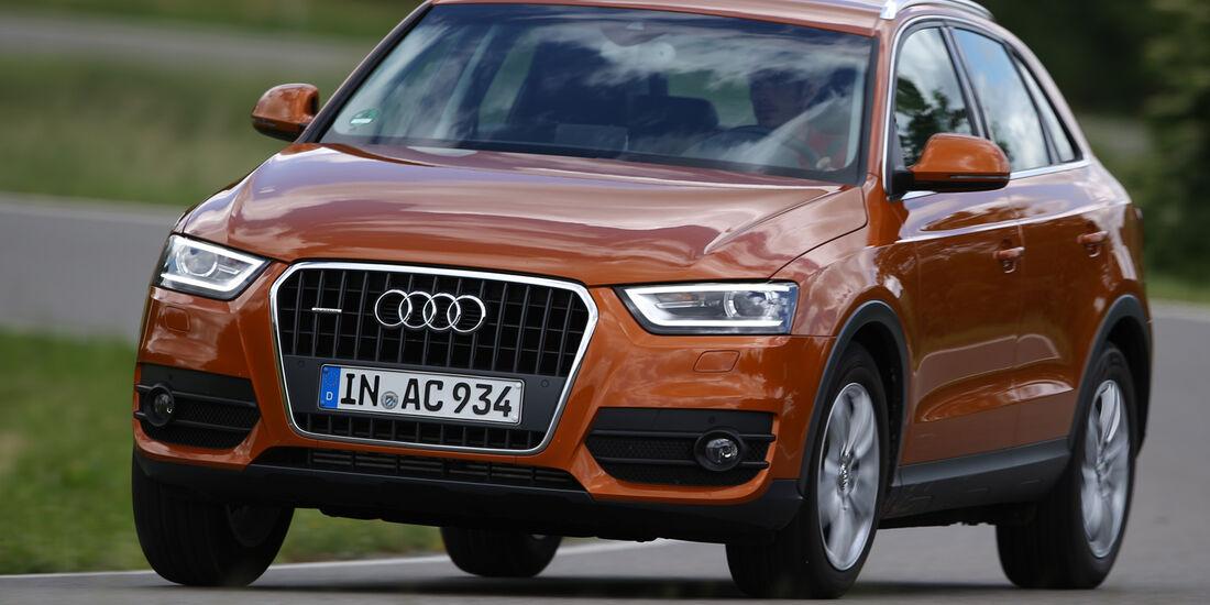 Audi Q3 2.0 TDI Quattro, Frontansicht