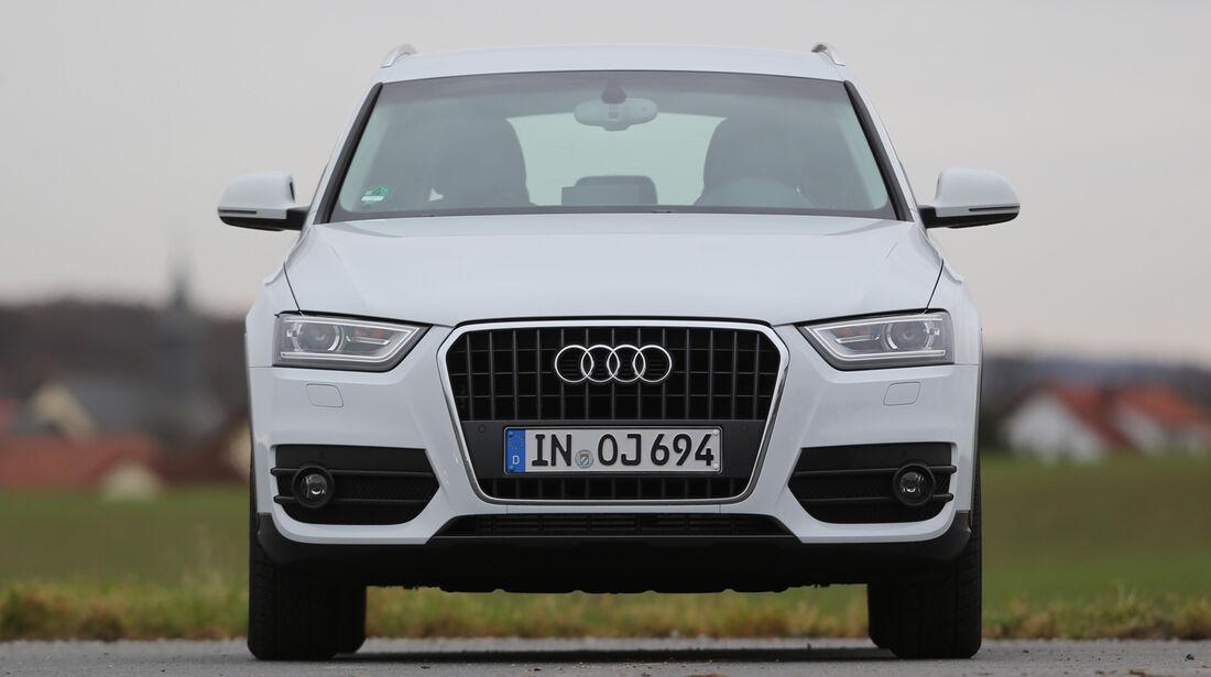 Audi Q3, Frontansicht