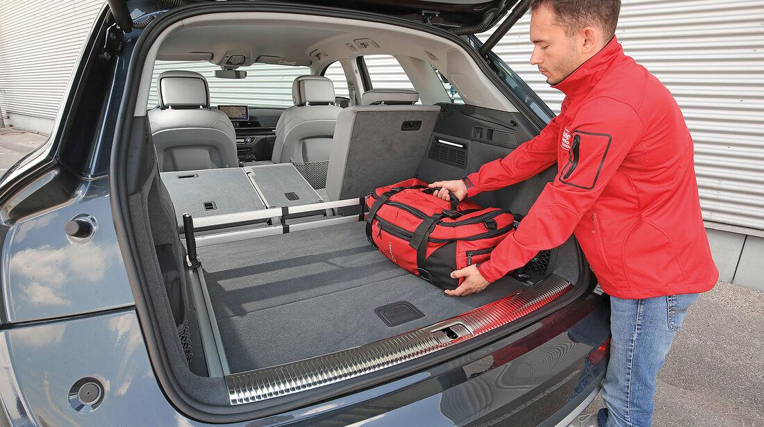 Audi Q5 2.0 TFSI Quattro Kofferraum