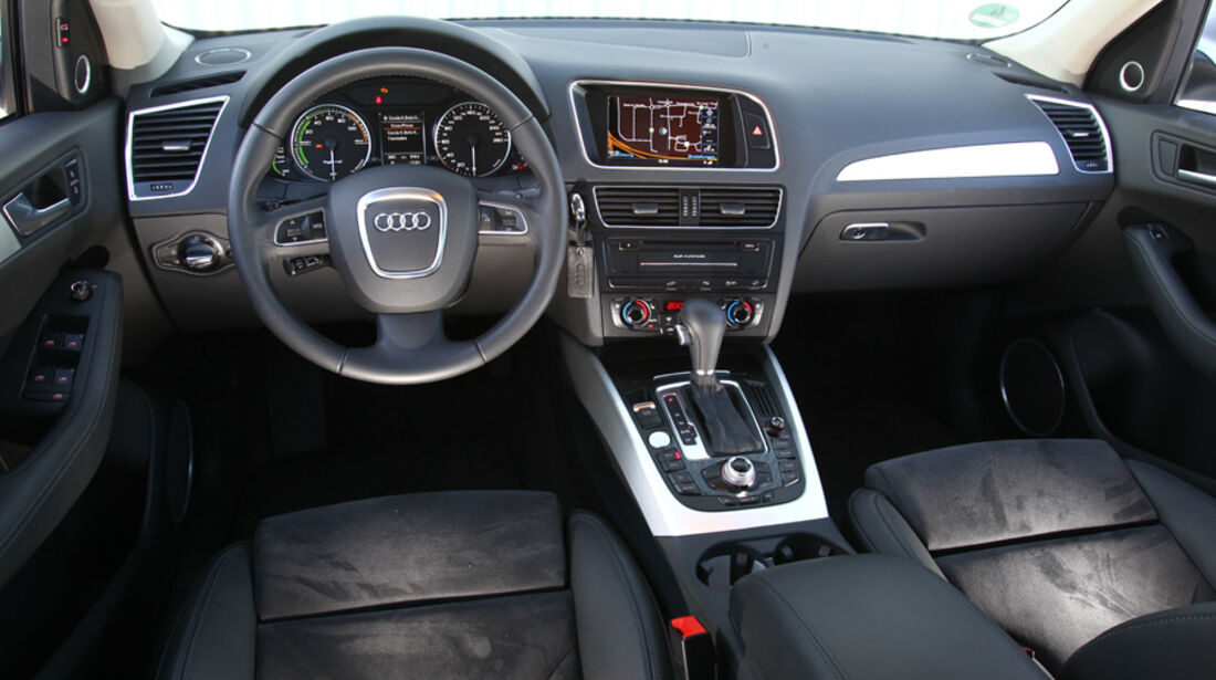 Audi Q5 Hybrid Quattro, Innenraum