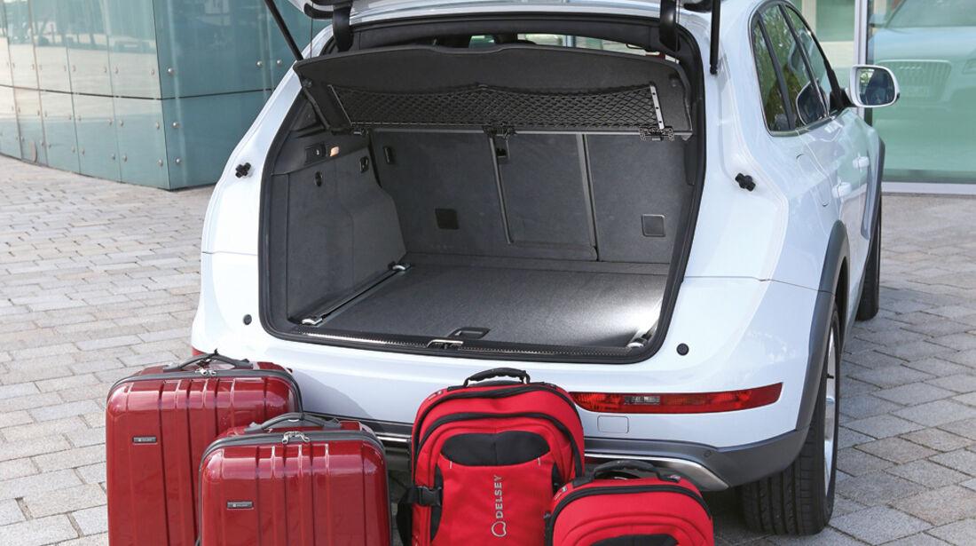 Audi Q5, Kofferraum, Ladevolumen