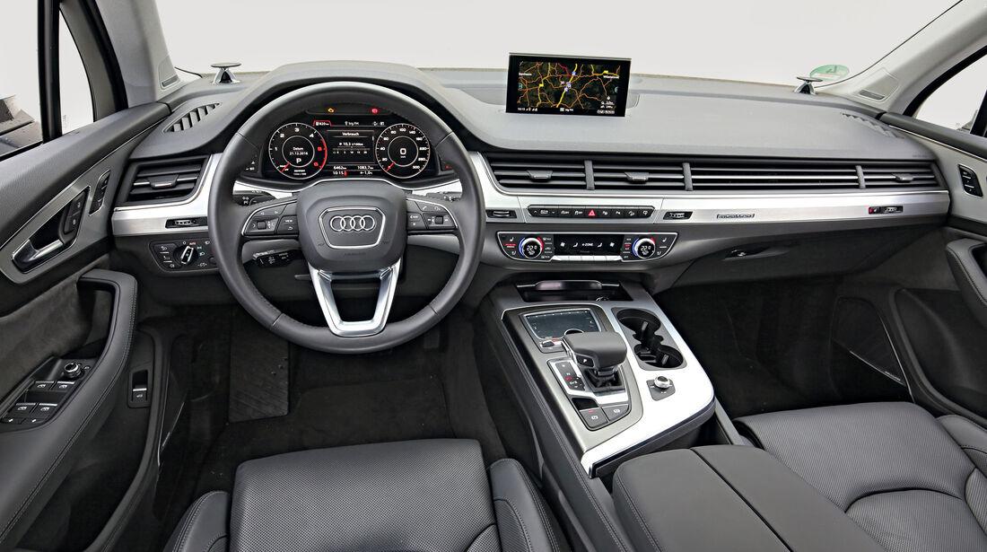 Audi Q7 3.0 TDI Quattro, Cockpit