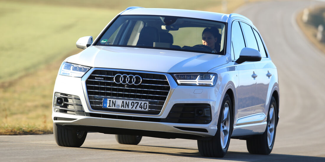 Audi Q7 3.0 TDI Quattro, Frontansicht