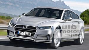 Audi Q8, Frontansicht