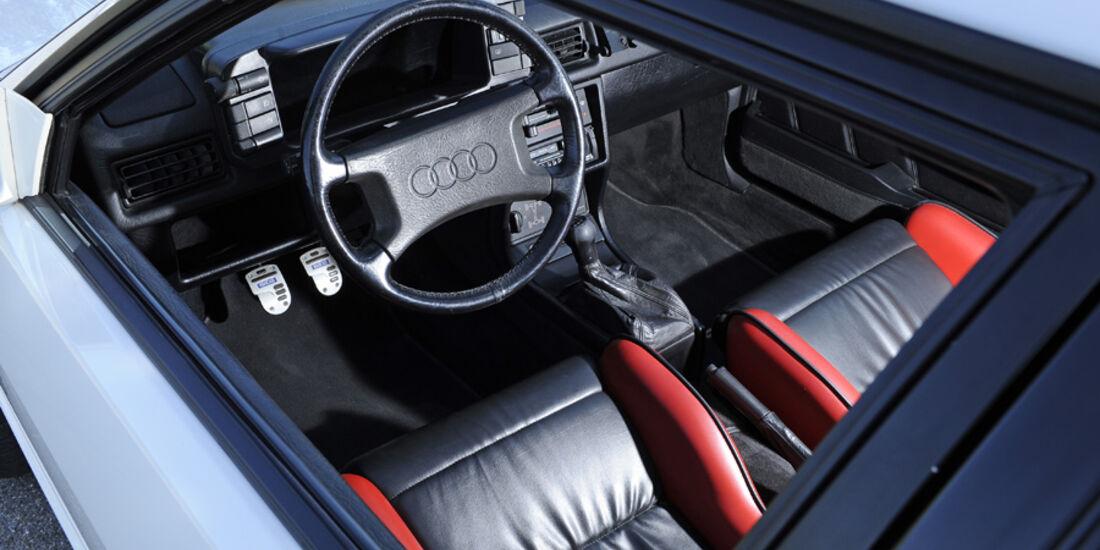 Audi Quattro, Baujahr 1986, Modell 87