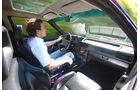 Audi Quattro, Cockpit, Fahrersicht