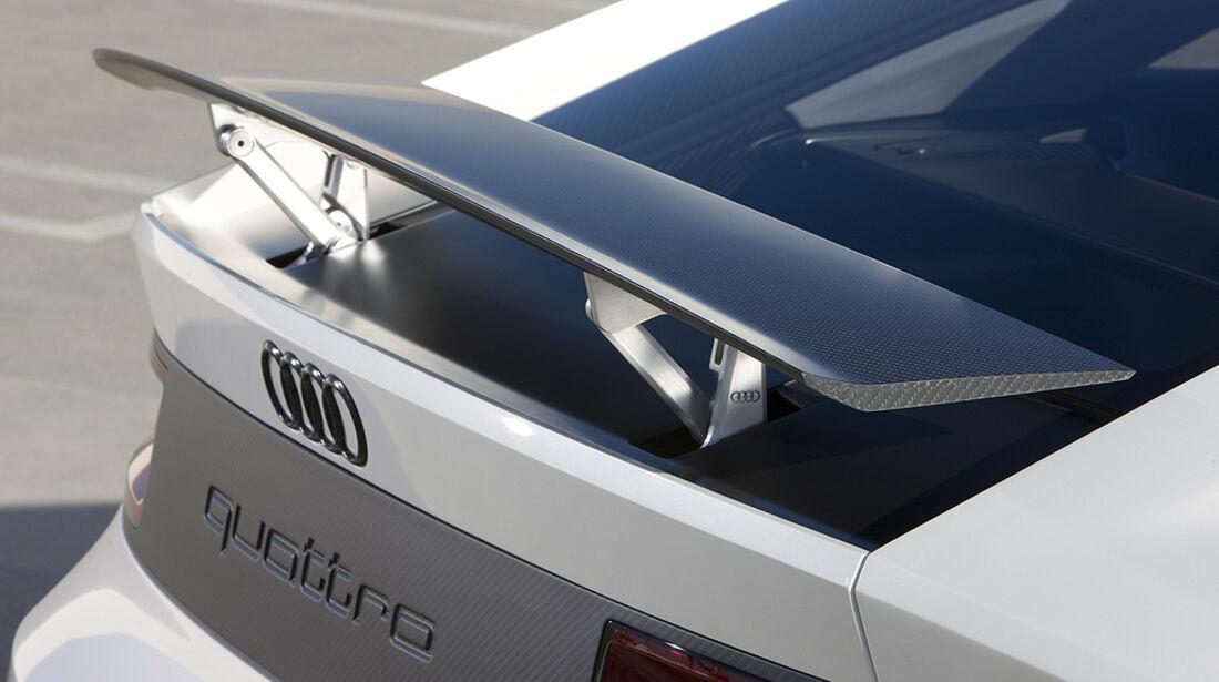 Audi Quattro Concept, Heckspoiler