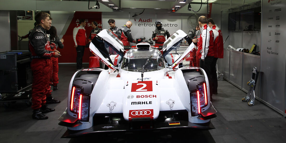 Audi R18 e-tron quattro - LMP1 - WEC Test Paul Ricard - Le Castellet - 2014