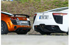 Audi R8 GT, Lexus LFA, Heck