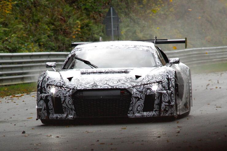 Audi R8 GT3 - Erlkönig - Testfahrten Nürburgring Nordschleife 11/2014