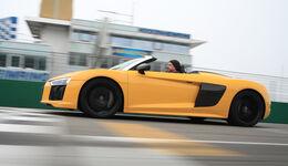 Audi R8 Spyder, Seitenansicht