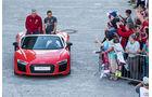 Audi R8 V10 Cabrio - Carlo Ancelotti - Philipp Lahm - FC Bayern München - Dienstwagen