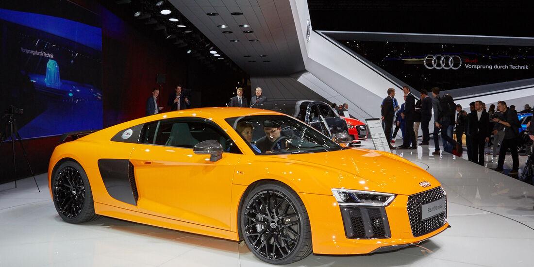 Audi R8 V10 Plus Genf