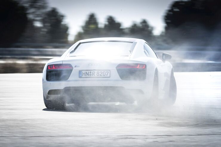 Audi R8 V10 RWS, Rear Wheel Series, Hinterradantrieb