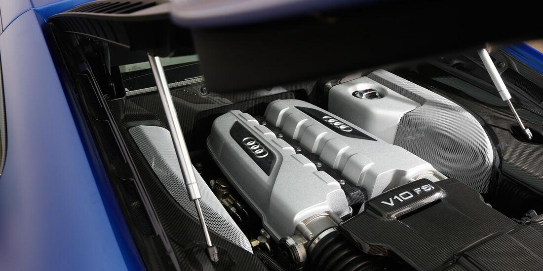 Audi R8 V10 plus 5.2 FSI, Motor