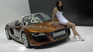 Audi R8 auf der Auto China 2010