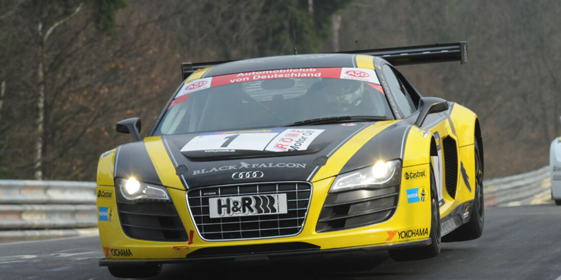 Audi R8 schwarz gelb