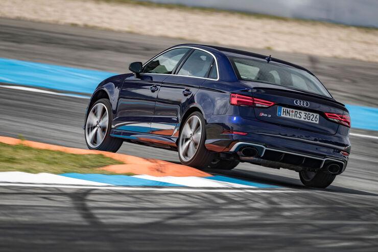 Audi RS 3 Limousine mit rätselhafter Leistung im Test ...