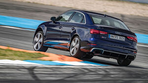 Audi RS 3 Limousine - Test - Fünfzylinder - Turbo - Hockenheim
