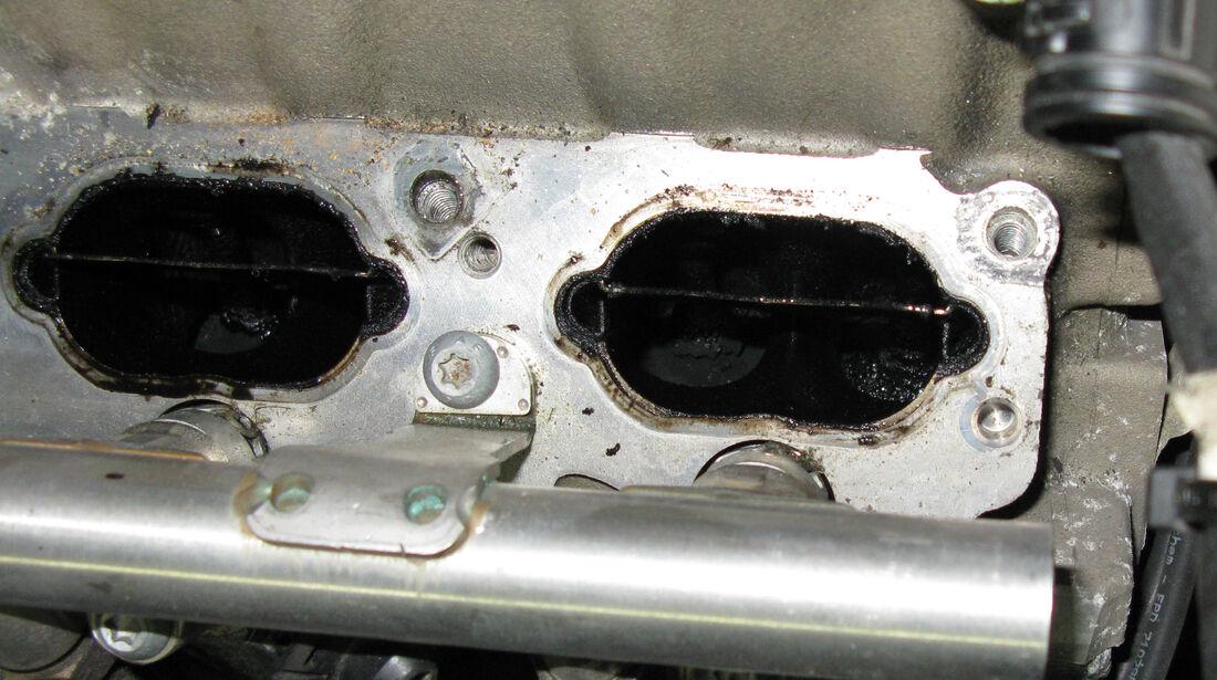 Audi RS 4 B7, Motor, Verkokung, Leistungsverlust