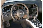 Audi RS 5 Coupé, Cockpit, Lenkrad