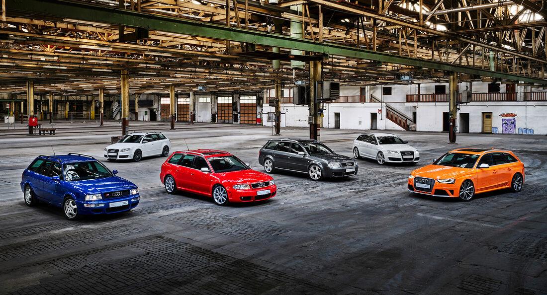 Audi RS-Modelle, 25 Jahre Audi RS