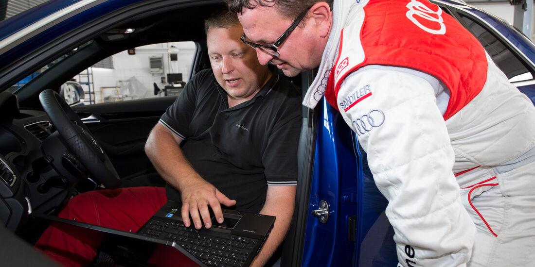 Audi RS Q3, Auslesen, Ergebnisse