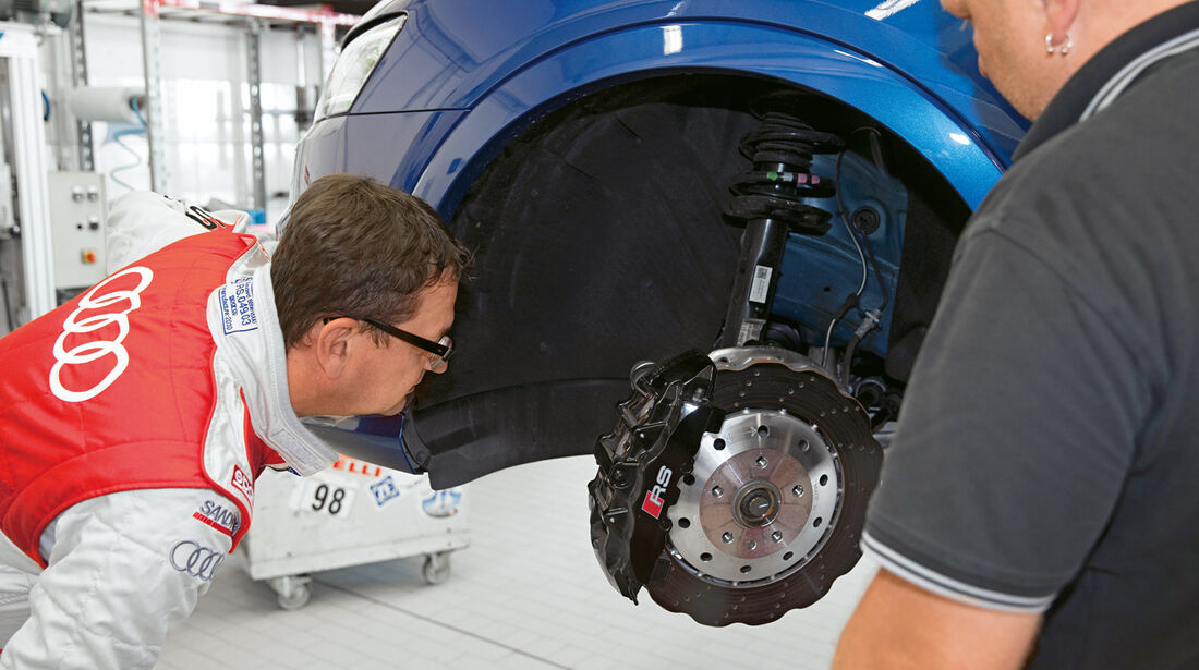 Audi RS Q3, Bremse