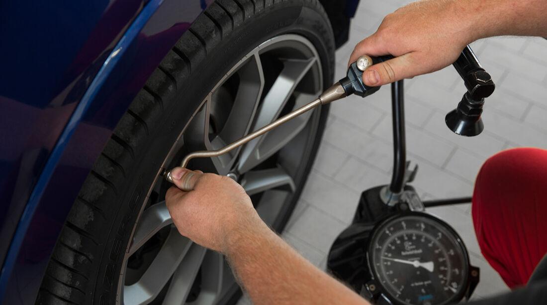 Audi RS Q3, Luftdruck