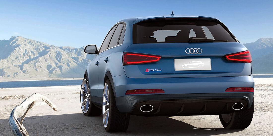 Audi RS Q3 Peking 2012