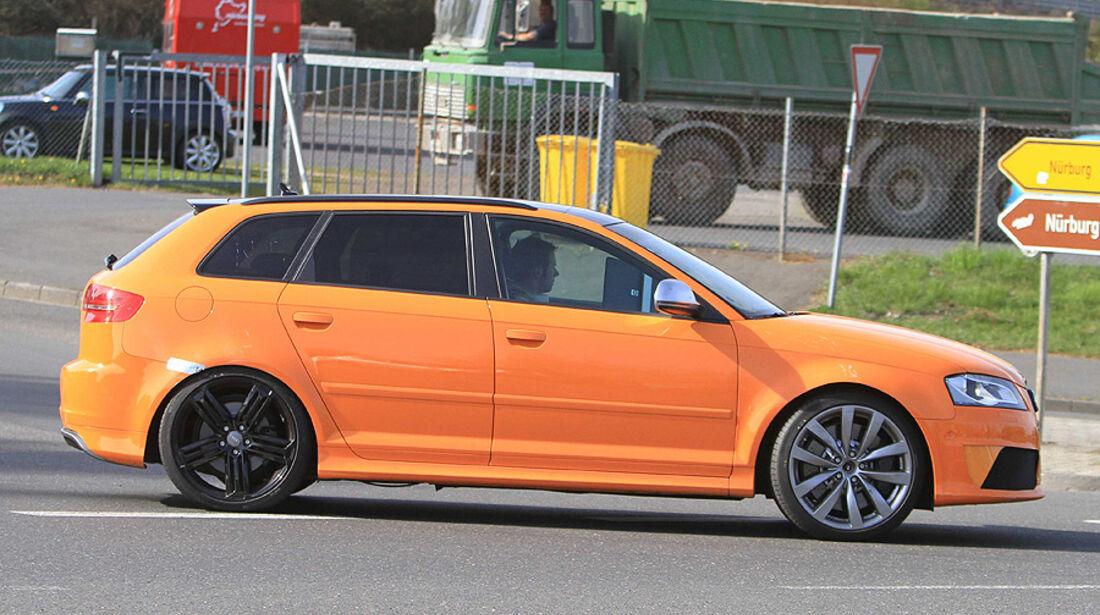 Audi RS3 Erlkönig