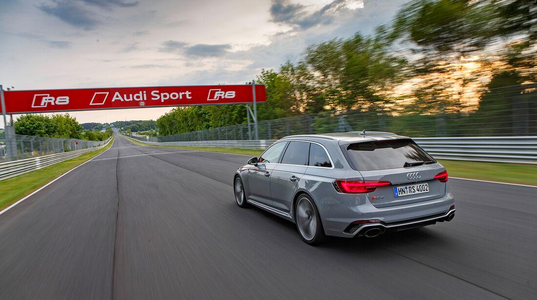 Audi RS4 Avant, Exterieur