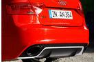 Audi RS5 Coupé, Auspuff, Endrohre