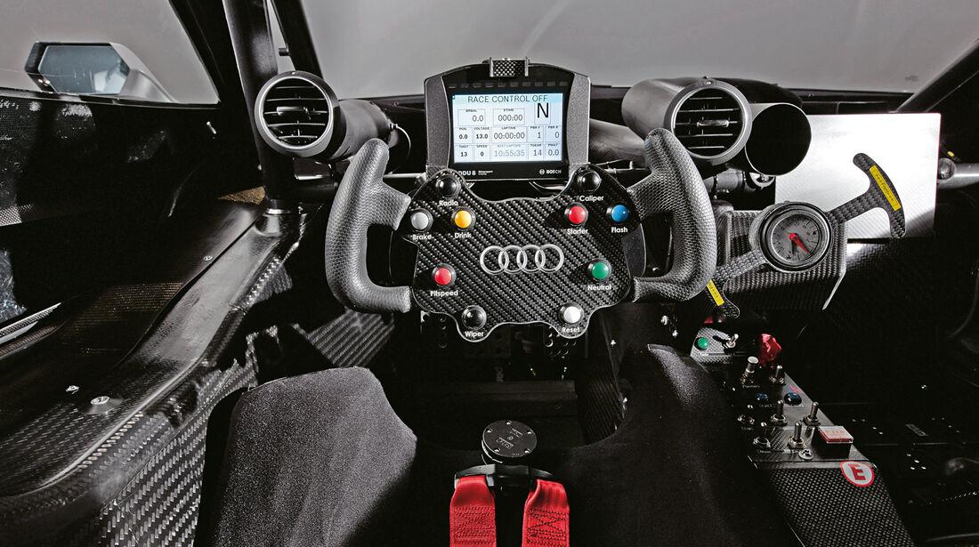 Audi RS5 DTM, Cockpit, Lenkrad