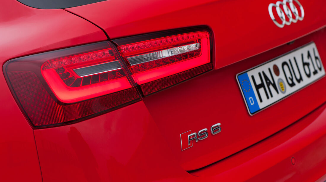 Audi RS6 Avant, Heckleuchte