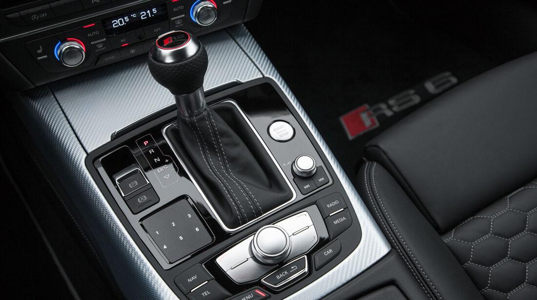 Audi RS6 Avant, Schalthebel, Schaltknauf