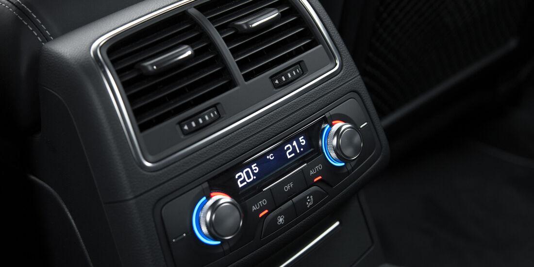 Audi RS6 Avant, Temperaturregler, Luftauströmer