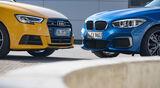 Audi S3, BMW M140i xDrive,